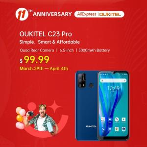 Customization secres for Oukitel C23 Pro