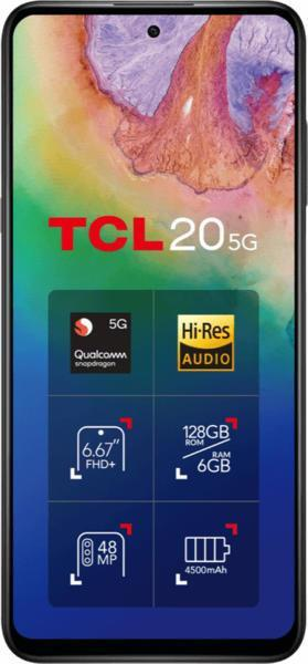 TCL 20 5G how to change Lock Screen clock or wallpaper