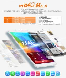 Customization secres for Teclast P80 4G
